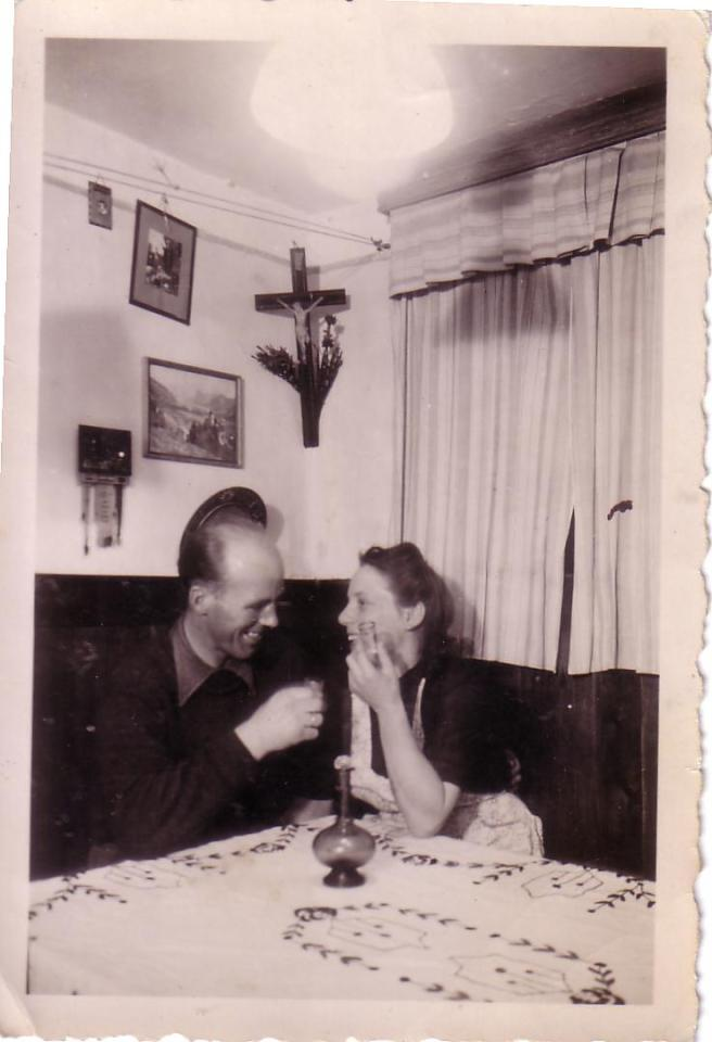1944 Oma und Opa